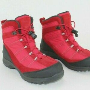 LANDS END RED WINTER BOOTS!!